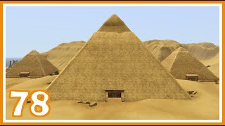 Inside the Great Pyramid 💚 Sims 3 EP Legacy Challenge || Part 78