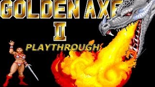 Arcade Longplay | Golden Axe 2 | Tyris Flare |
