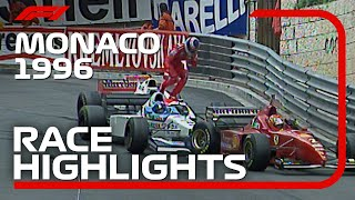 1996 Monaco Grand Prix: Race Highlights