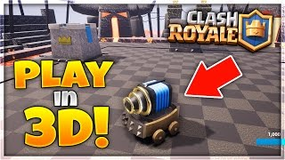"""HOW TO PLAY """"Clash Royale"""" In 3D! 