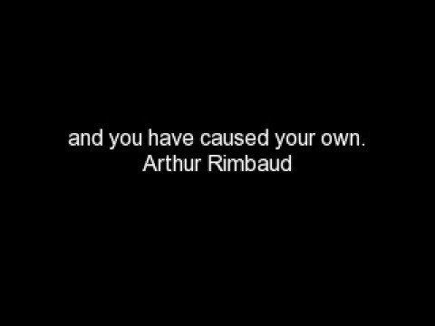 Arthur Rimbaud's Quotes