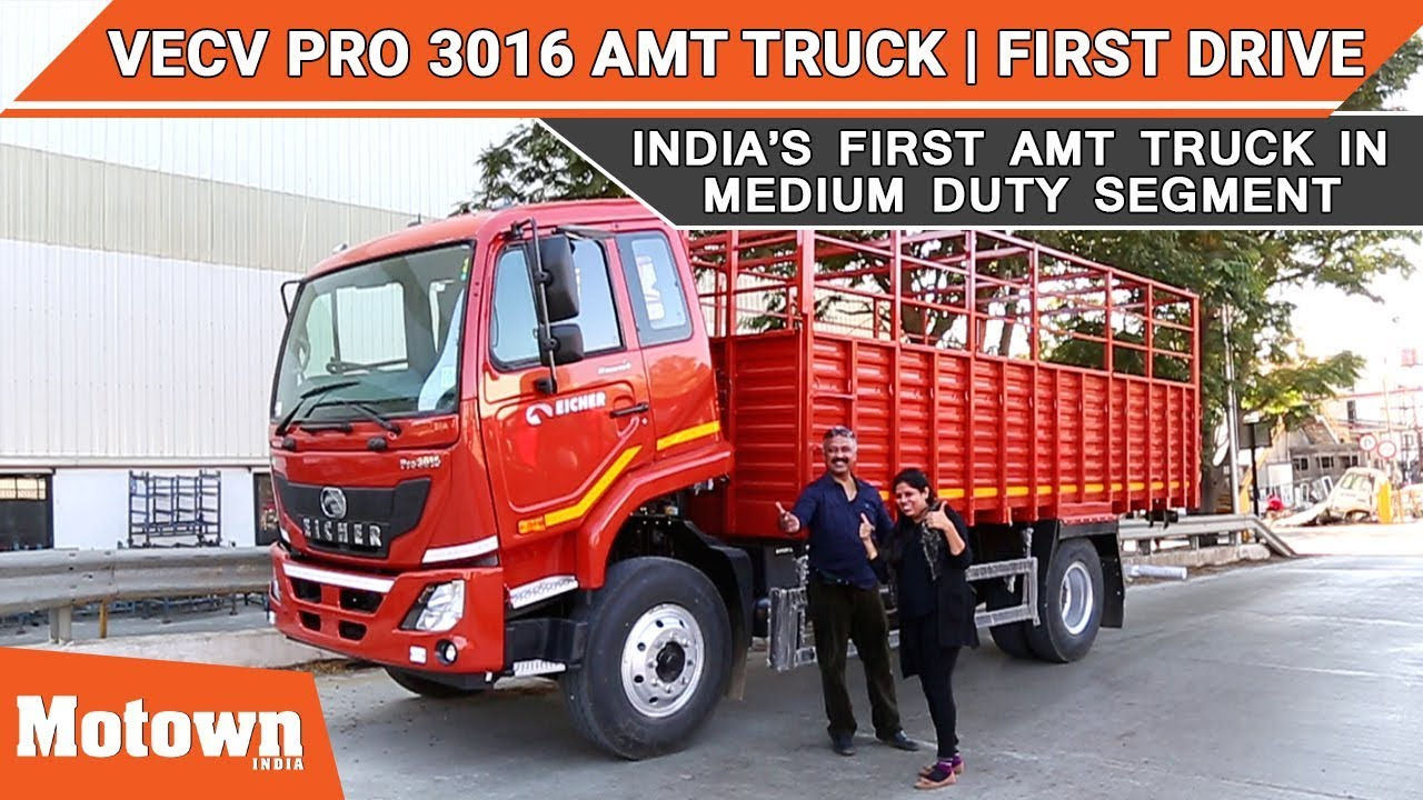 Eicher Pro 3016 AMT truck   Women too can handle it   English & Hindi