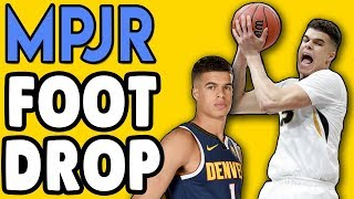 FOOT DROP and WHY Does Michael Porter Jr Have it? Doctor Explains