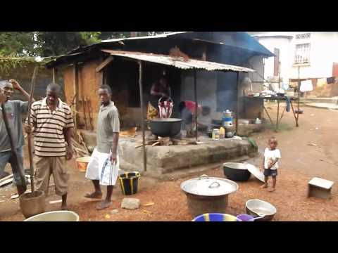 Cooking In Port Loko Sierra Leone 2013