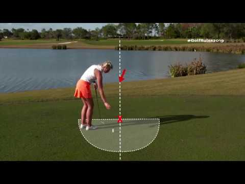 Golf's New Rules: Procedure for Taking Back on a Line Relief