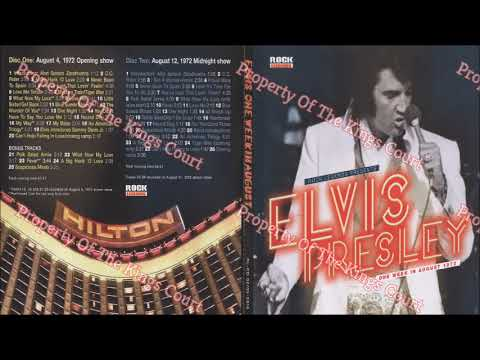 Elvis Presley - One Week In August - Midnight Show - August 12th 1972
