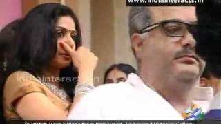 Sridevi at Soundarya Rajinikanth Wedding in Chennai