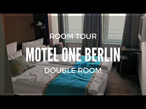 Room Tour Motel One Berlin - Double Room - Invalidenstrasse
