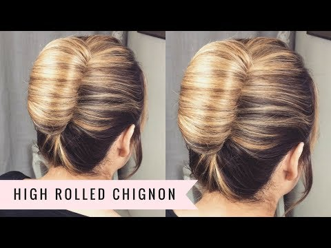 The High Rolled Chignon by SweetHearts Hair