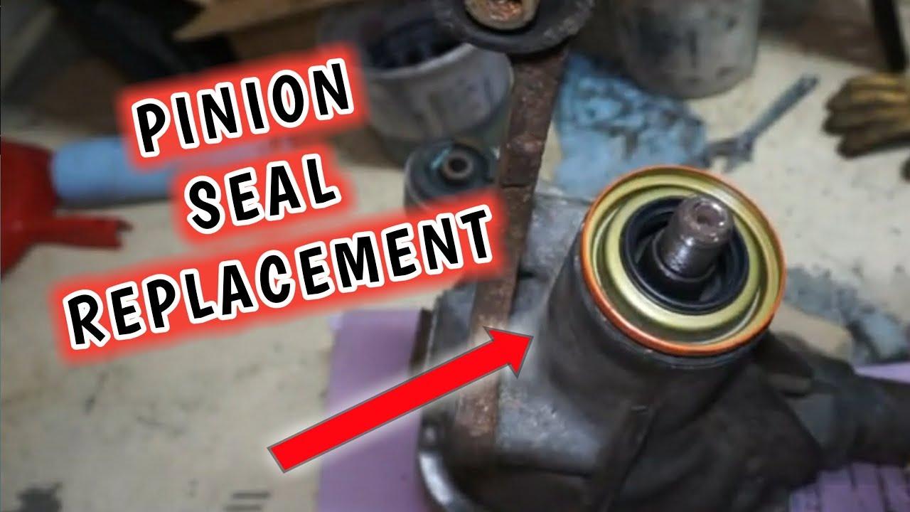 Replacing Pinion Seal Ford Jeep Dana 30 35 44 Youtube