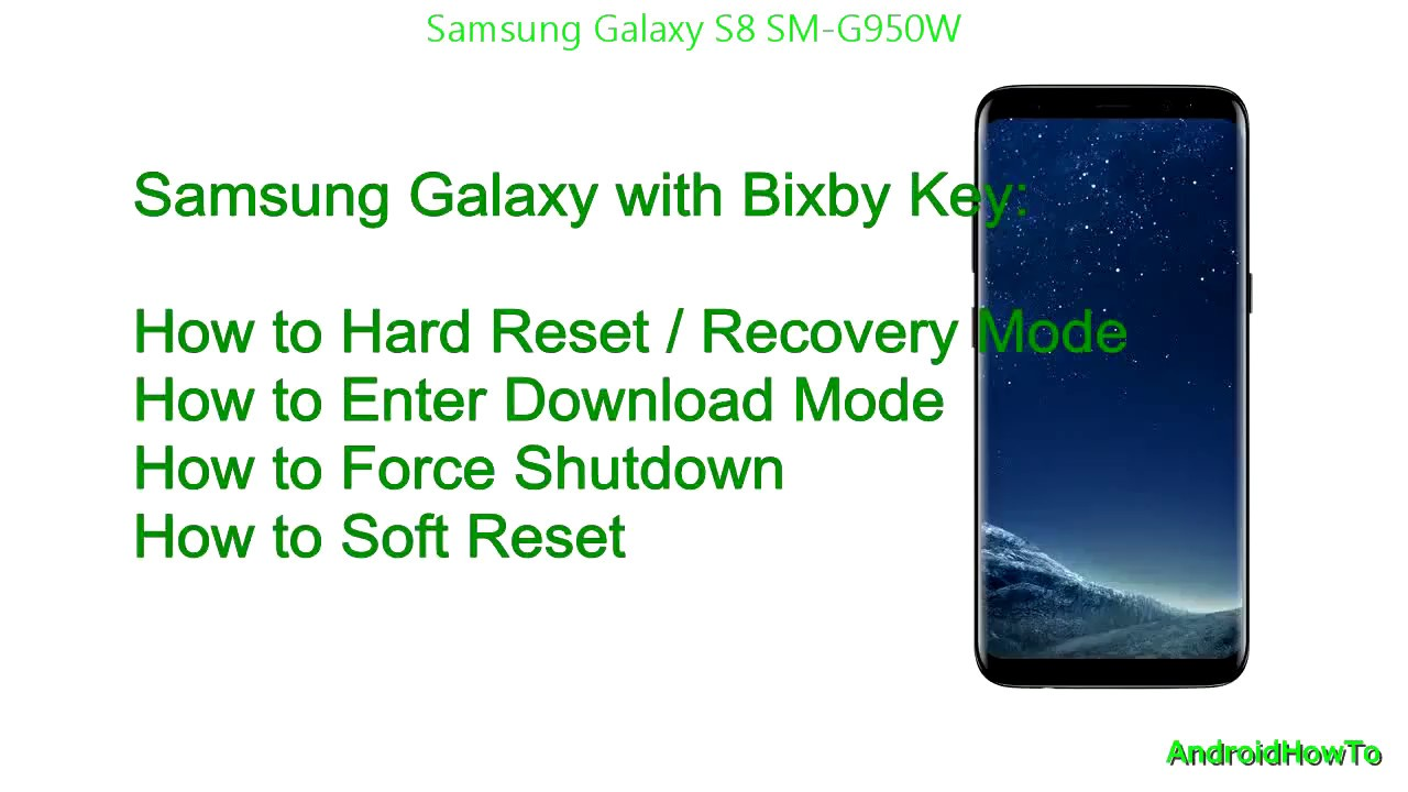 How To Get Samsung Galaxy S8 In Out Of Download Mode Youtube