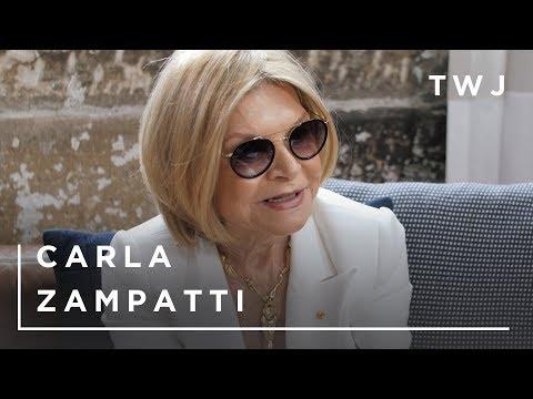 Tea with Jules with Fashion Icon Carla Zampatti