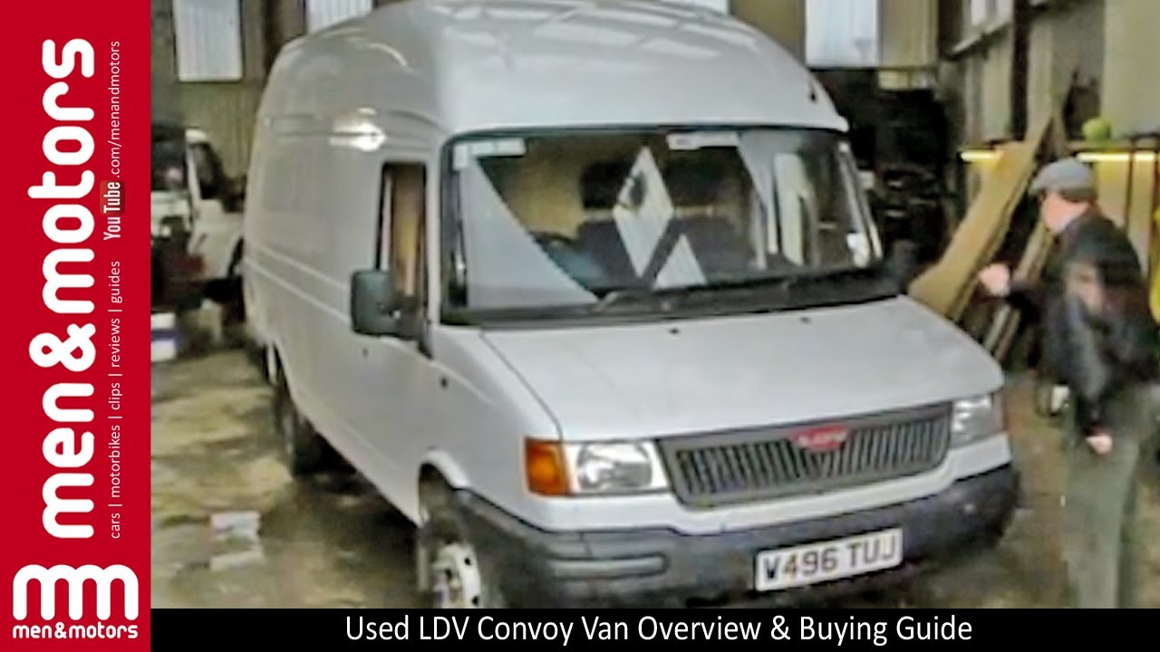 How To Stop Rust >> Used LDV Convoy Van Overview & Buying Guide - YouTube
