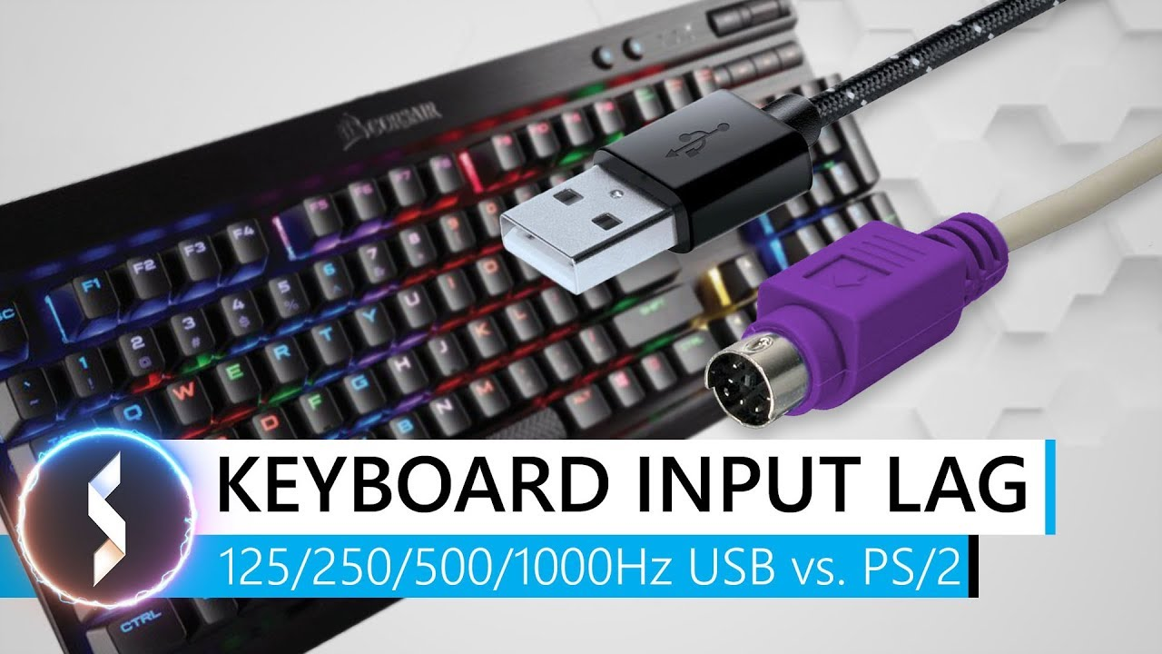 Keyboard Input Lag 125 250 500 1000hz Usb Vs Ps 2 Youtube Korea Ps2 Controller Wiring Diagram