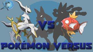 Arceus VS Magikarp | Pokémon Versus