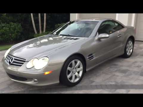 2004 Mercedes Benz SL500 Roadster Review and Test Drive by Bill - Auto Europa Naples