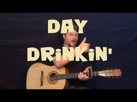 Day Drinking (Little Big Town) Easy Strum Guitar Lesson How to Play Tutorial