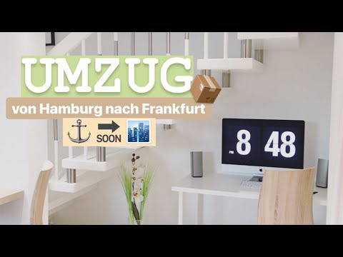 Instavlog #4 Umzug von Hamburg nach Frankfurt & 1. Haustour