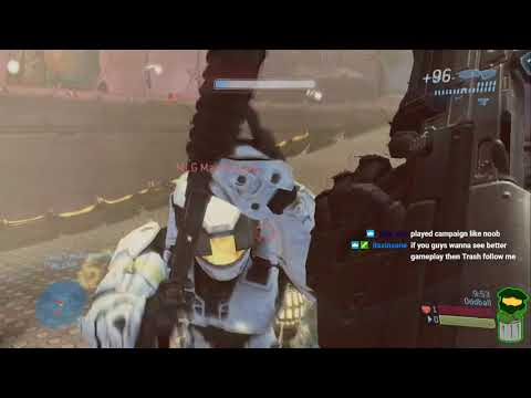 Halo 3 50 High Lone Wolves Great Comebacks GOLD BACK ON TRASH!