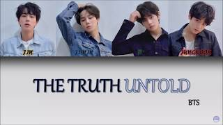 BTS (방탄소년단) - THE TRUTH UNTOLD (Feat. Steve Aoki) German Lyrics [Han/Rom/Ger]