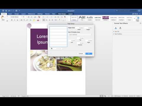 How to fix pdf problem in word 2017 (Mac)