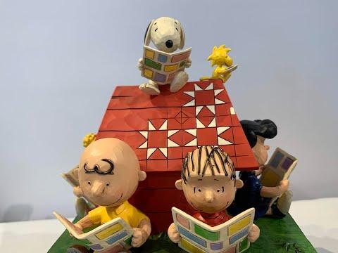 【スヌーピー】ジムショアー ピーナッツ作品紹介「Peanuts Gang Reading」