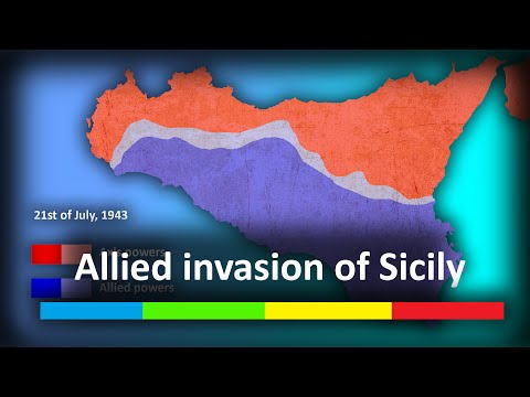 «Allied invasion of Sicily» | Every day