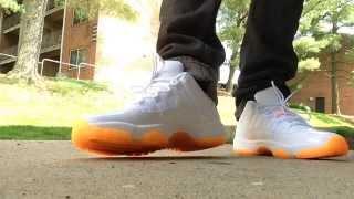 """JORDAN 11 LOW """"Citrus"""" REVIEW + ON FOOT...#SummerTime"""