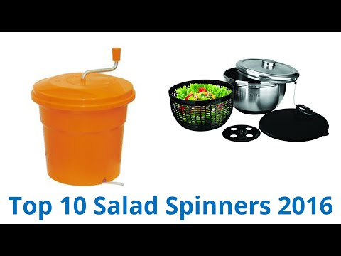 10 Best Salad Spinners 2016