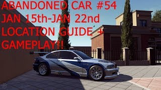 Need For Speed Payback Abandoned Car #54 Location Guide + Game Play!!