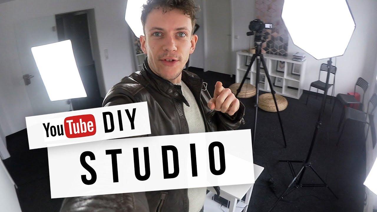 Youtube Studio einrichten ► Kamera, Beleuchtung & Co Tutorial für Anfänger  L20