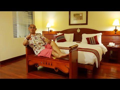Victoria Châu Đốc Hotel không chỉ nên thơ mà còn vương giả ngoại trừ ... cái cân !