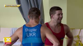 Украинские борцы готовятся к чемпионату мира в Казахстане