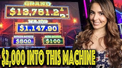 $2,000 Into Eureka Blast Slot Machine! Trying to Score a BIG WIN!