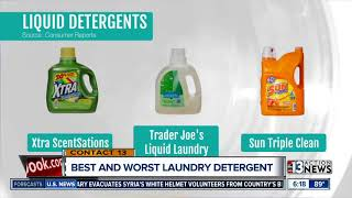 Best and worst laundry detergent