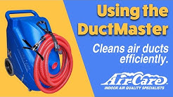 Using the DuctMaster