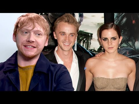 Rupert Grint On 'Sparks' Between Emma Watson And Tom Felton During Harry Potter (Exclusive)