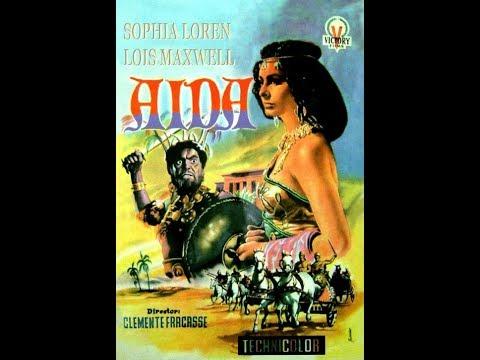 Aida (1953) Sophia Loren - Full Movie