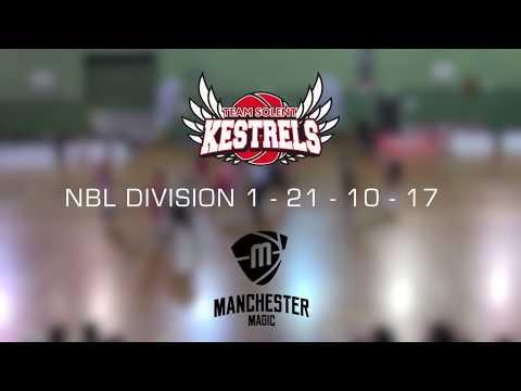 HIGHLIGHTS; Team Solent Kestrels 91-82 Manchester Magic (NBL D1) - 21/10/17