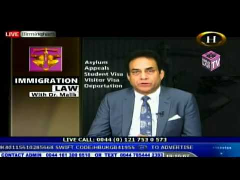 Immigration Law With Dr Malik 25 August 2017