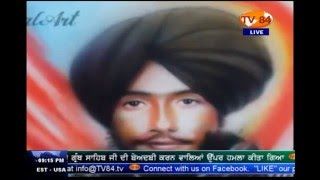 Talented Sikh Artist Joti Singh Dhanjal   TV84 Special (March 15, 2016)
