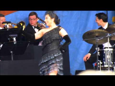 "Tony Bennett & Lady Gaga - ""I Won't Dance"" - New Orleans Jazz & Heritage Festival, 4-26-2015"