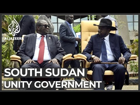 S Sudan president, rebel leader agrees to form unity government