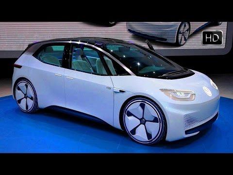 2020 Volkswagen I.D. Electric Car Concept Presentation at Paris Motor Show HD