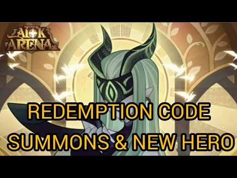 Redemption Code Summoms & New Hero : AFK Arena - YouTube