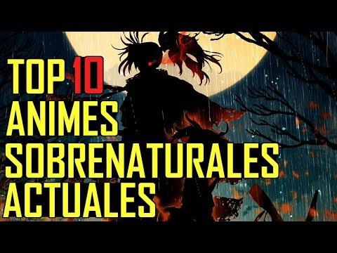 top-10-animes-sobrenaturales-actuales!!!