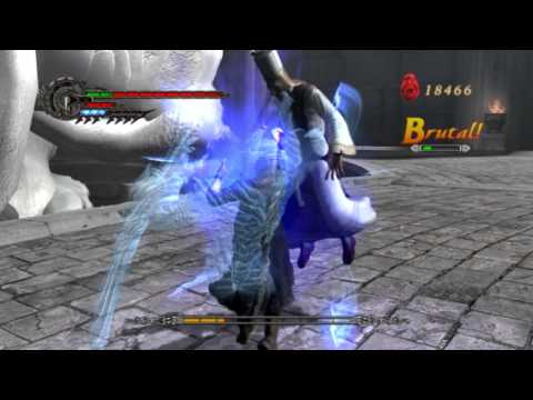 Devil May Cry 4 - Nero vs Sanctus First Fight