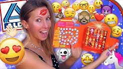 ALDI Emojis STIKEEZ 2019 + Emoji Handy App 🤩 ALLE Figuren! 🤪 Sammelfiguren Unboxing deutsch