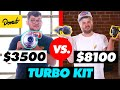 $3,500 Single Turbo Kit vs. $8,100 Twin Turbo Kit   HiLow