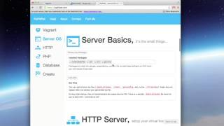 Setting up Vagrant for PHP Development